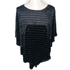 American City Wear women's top.  Large size. Black
